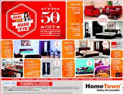 Furniture sale advertisement 25th Hometown1 Mallmasticom Home Town Furniture Mano Ya Na Mano Sale Special Offers Sale