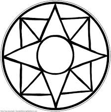 Easy Mandala Coloring Pages Combined With Easy Mandala Coloring Page