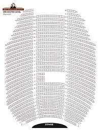 Bob Hope Theatre Seat Map Elcho Table
