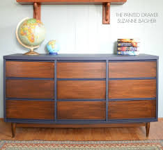 modern painted furniture. A Mid Century Modern Dresser Gets Facelift, Painted Furniture, Repurposing Upcycling Furniture R