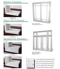 swinging and swinging french door frames french frames