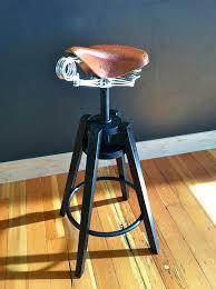Creative Chair Design: IKEA's Dalfred Stool with Brooks Saddle -  Freshome.com