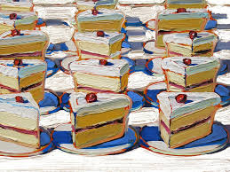 where to see wayne thiebaud s paintings