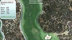 robinson ranch golf course mounn course flyover