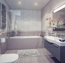 kamar mandi nuansa putih: 50 interior kamar mandi kombinasi warna putih minimalis modern