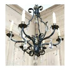 white wrought iron crystal chandelier wrought iron and crystal chandeliers crystal white wrought iron chandelier wrought