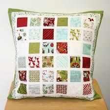 Mini Charm Pack Cushion | Hulu yarn and fabric shop & mini charm pack cushion Adamdwight.com