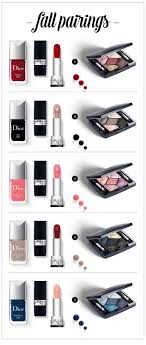 pairing dior makeup s for fall