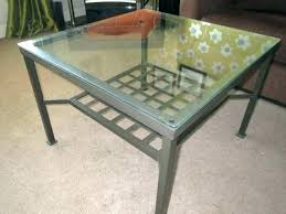 ikea round glass table glass table metal side table co glass top dining table and chairs ikea round glass table