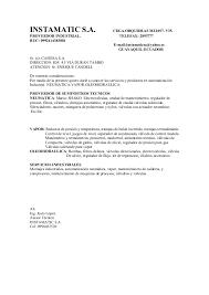 Carta De Presentacion Modelo Carta De Presentacion B Modelo
