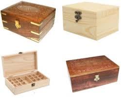 Aromatherapy <b>Essential Oil</b> Wooden Storage Box UK