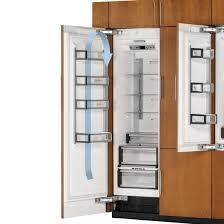 thermador built in refrigerator. freeflow™ cold air system thermador built in refrigerator