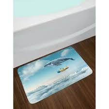 whale bath rug east urban home