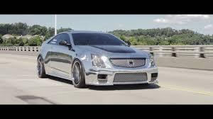 Chrome CTS-V Coupe on Rohana Wheels | FonzMedia - YouTube