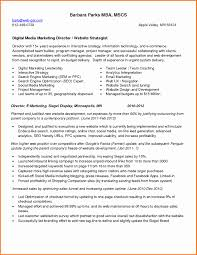 Marketing Project Manager Resume Sample Resume Format For Sales And Marketing Mana Lovely Social Media 19