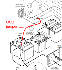 spark from receptacle charger won't come on club car powerdrive charger wiring diagram at Club Car Battery Charger Diagram