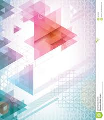 Futuristic Triangles Stock Vector Illustration Of Vibrant 28019087