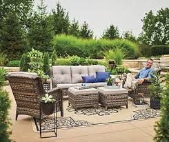 Covered porch furniture Enclosed Porch Lowes Outdoor Furniture Big Lots