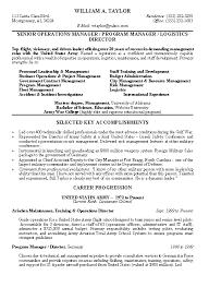 Sample Zoning Supervisor Resume Military Resume Sample Resume Zone