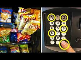 How To Get Free Food Out Of A Vending Machine Classy Top 48 Vending Machine Hacks To Get FREE Drinks And Snacks Works