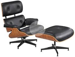 replica eames lounge chair and ottoman black. replica eames lounge chair \u0026 ottoman black / walnut and