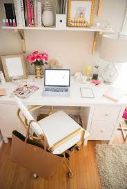 diy home office desk. Divine All White Simple Home Working Desk With Wall Mounted Hanging Wooden Shelf Diy Office
