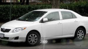 Evolution of the Toyota Corolla (1967 - 2011) - YouTube
