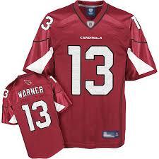Reebok Throwback Jersey Size Chart Reebok Mens Kurt Warner Authentic Red Home Jersey Arizona