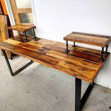 iron pipe furniture. custom audio engineering desk by barnboardstorecom this pieces uses our rustic brown barn pipe furniturefurniture iron furniture b