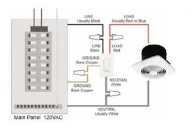 how to install a bathroom fan timer switch basically the timer is wired in line the hot side of the circuit black or red and the neutral wires white from the device and the switch are wired