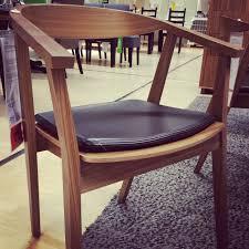 stockholm chair with chair pad walnut veneer dark brown 198