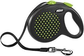 <b>flexi Design</b> L Tape, 5 m, <b>Black</b>/Green: Amazon.co.uk: Pet Supplies