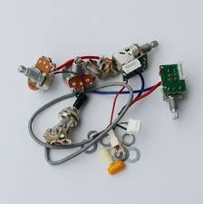 aliexpress com buy set of etc guitar pro wiring harness push set of etc guitar pro wiring harness push pull alpha pots switch