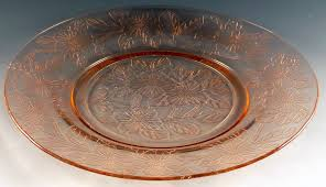 Pink Depression Glass Patterns Best Glass Pick Of The Week Dogwood Pink Depression Glass Dinner Plates