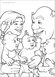 Small Picture Shrek coloring pages 4 Diy Craft Ideas Gardening