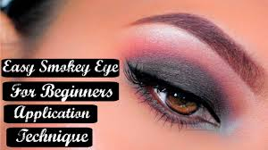 how to easy step by step smokey eye makeup tutorial for beginners free airahmorenatv you