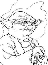 Yoda coloring page from star wars category. Star Wars Coloring Page Yoda Coloring Page All Kids Network