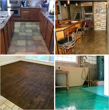 Stamped Concrete Kitchen Floor Increase Your Homes Value With Decorative Concrete Inside And Out