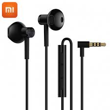 2018 New Original Xiaomi <b>Mi Dual Driver</b> Earphones 3.5mm Half In ...