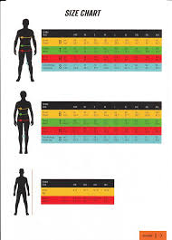 Ktm Jacket Size Chart Ktm Size Chart