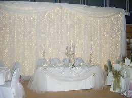 Curtains Wedding Decoration Wedding Drapery With Lights Curtain Lights Wedding Lighting