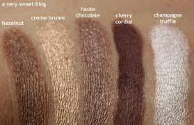 too faced semi sweet chocolate bar original chocolate bar revew swatches parison and giveaway a very sweet lovin