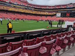 Fedex Field Landover Md Seating Chart Fedexfield Section 25 Rateyourseats Com