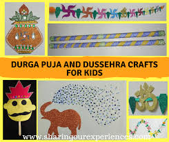 Dussehra Charts For School Fun Durga Puja Navratra And Dussehra Crafts And Activities
