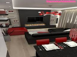 Red Black And White Living Room Ideas Gopelling Net