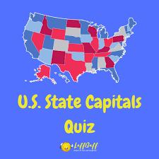 Fun Free U.S. State Capitals Quiz ...