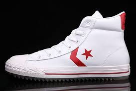 converse all star high tops. white leather converse padded collar korea ct all star high tops shoes