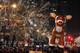 Washington Park Michigan City Christmas Lights The Mix Chicagos Christmas Tree Lighting Magnificent Mile