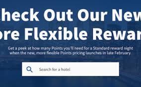 Hilton Hhonors Reward Chart A Closer Look At Hilton Honors New Award Pricing One Mile