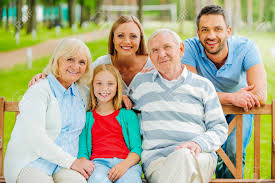 Family Picture Family With Grandparents Stock Photos Pictures Royalty Free